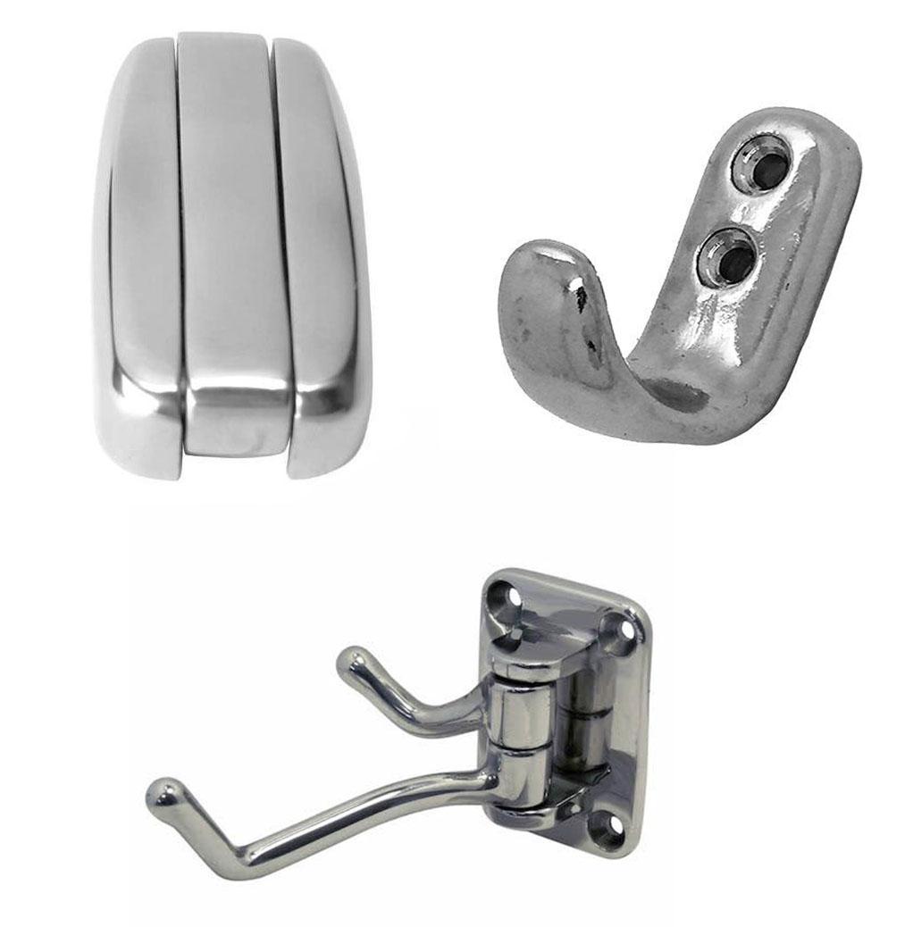 Stainless Steel Coat Hooks